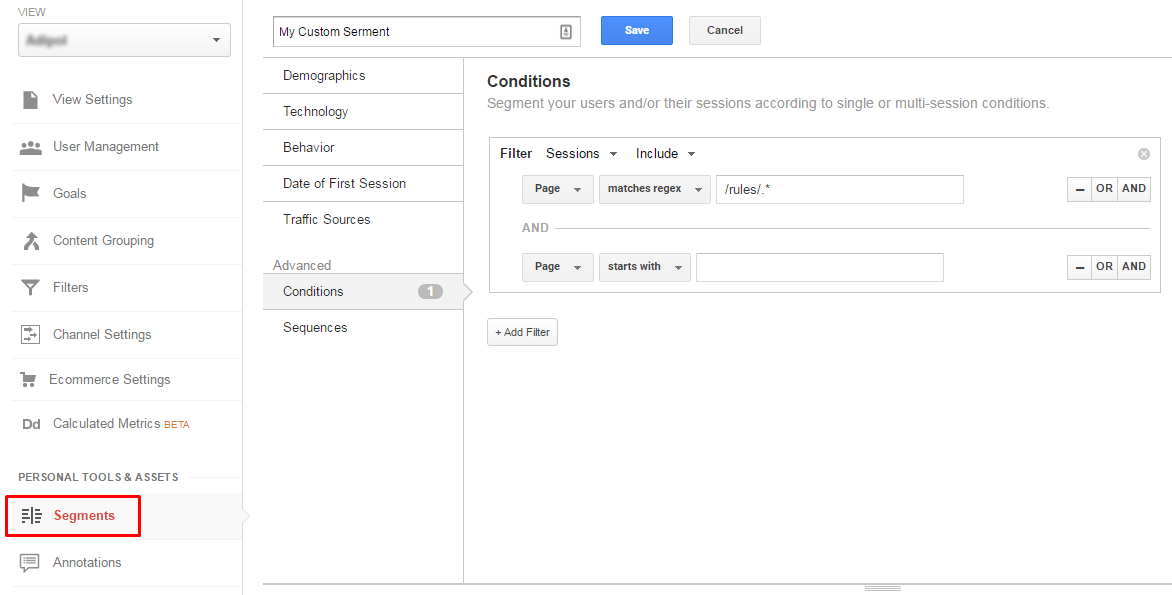 Intelligence Alerts in Google Analytics